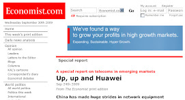 The Economist - 5 - Up, up and Huawei