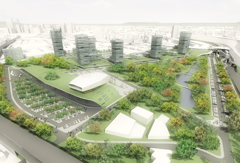 Urbanfile napoli aedes eco quartiere residenziale misto for Progetti di edilizia eco friendly