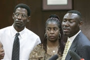 Martin Lee Anderson's mom, dad, and lawyer Benjamin Crump