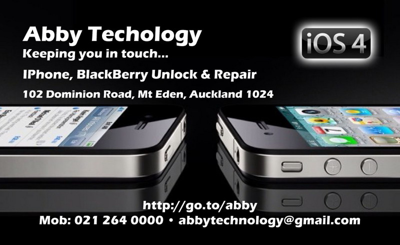 Abby Technology Phone Repair Joins Adpost Iphone Unlock Jailbreak Auckland