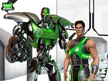 Max Steel y Cytro en N-Tek
