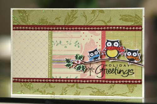 SK Christmas Swap Card