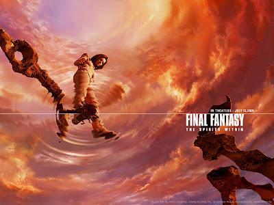 Nenas 3D: Aki Ross (Final Fantasy: The Spirits Within 2001)