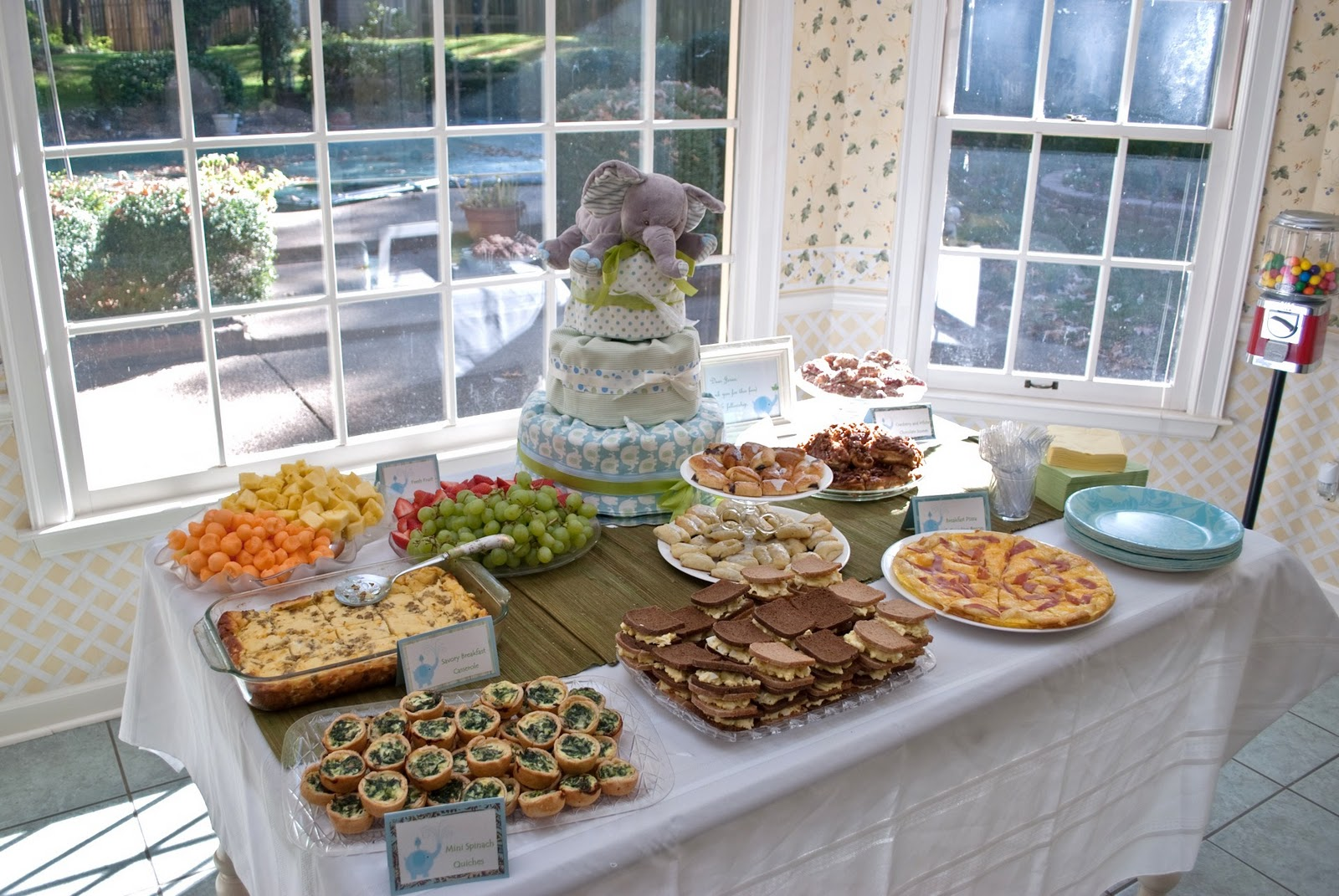 baby shower food ideas on a budget lots of yummy food