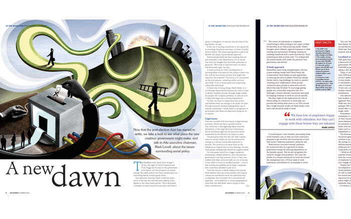 Work by lo tec a4e blueprint magazine a new dawn hello all just received a copy of the page layout with the illustration i produced for a4e blueprint magazine a few weeks ago malvernweather Gallery