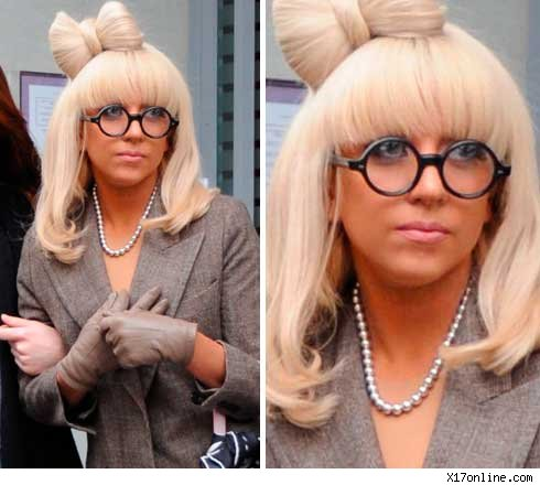 lady gaga weird. lady gaga no makeup or wig