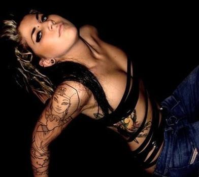 sexy celebrity tattoo art