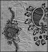arabian mehndi sketchs