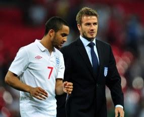 Beckham Berikan Semangat Kepada Walcott