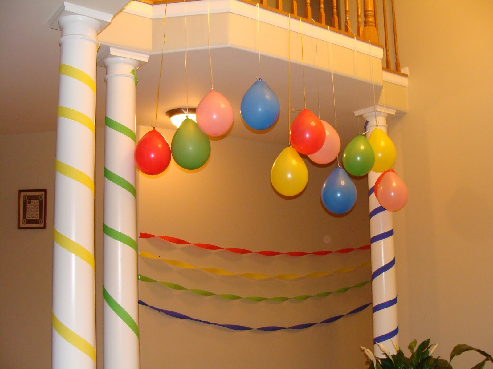 The Martha Initiative: Frugal party decorations