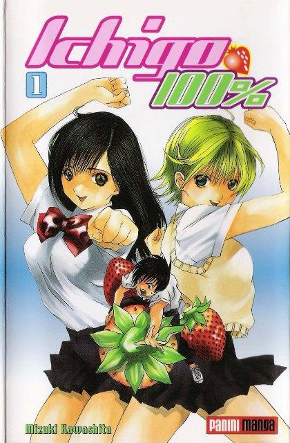 Ese manga que empesaste por culpa de el anime que no te convencio xD Ichigo100