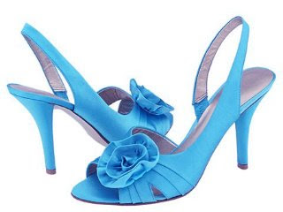 wedding shoes blue