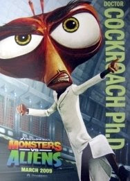 Cockroach Ph.D.  - Monsters vs Aliens