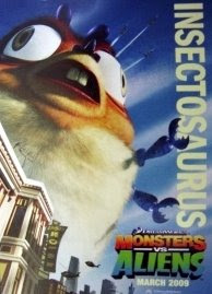 Insectosaurus - Monsters vs Aliens