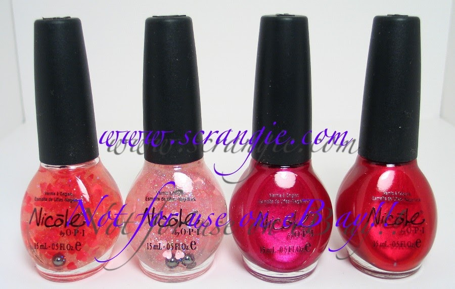Scrangie: Valentine\'s Day Manicure Ideas from Nicole by OPI