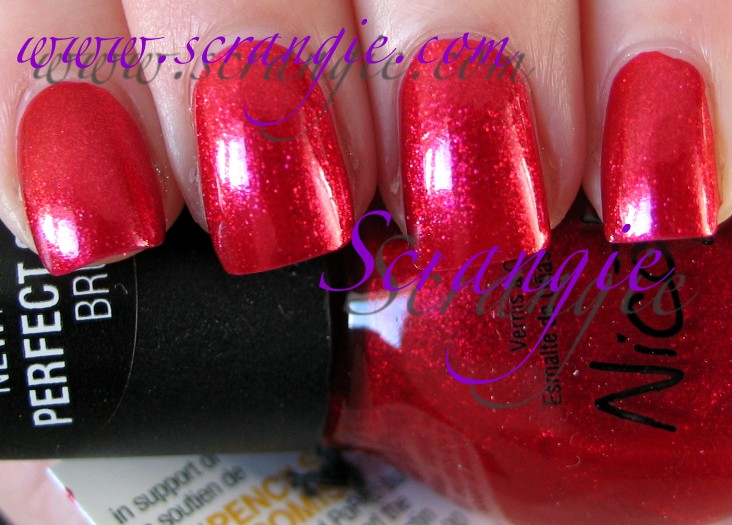 Scrangie: Nicole by OPI Justin Bieber One Less Lonely Girl ...