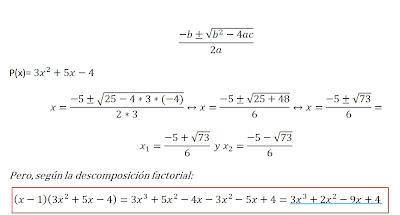 Matemáticas: Apartado VII: Descomposición factorial de un polinomio ...