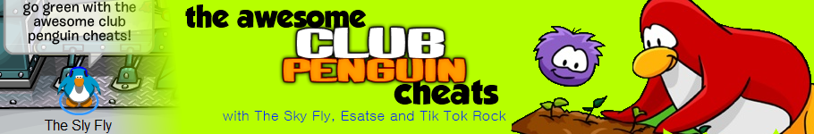 the awesome club penguin cheats :)