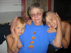 My mom and nephews