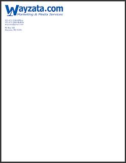 letterhead sample