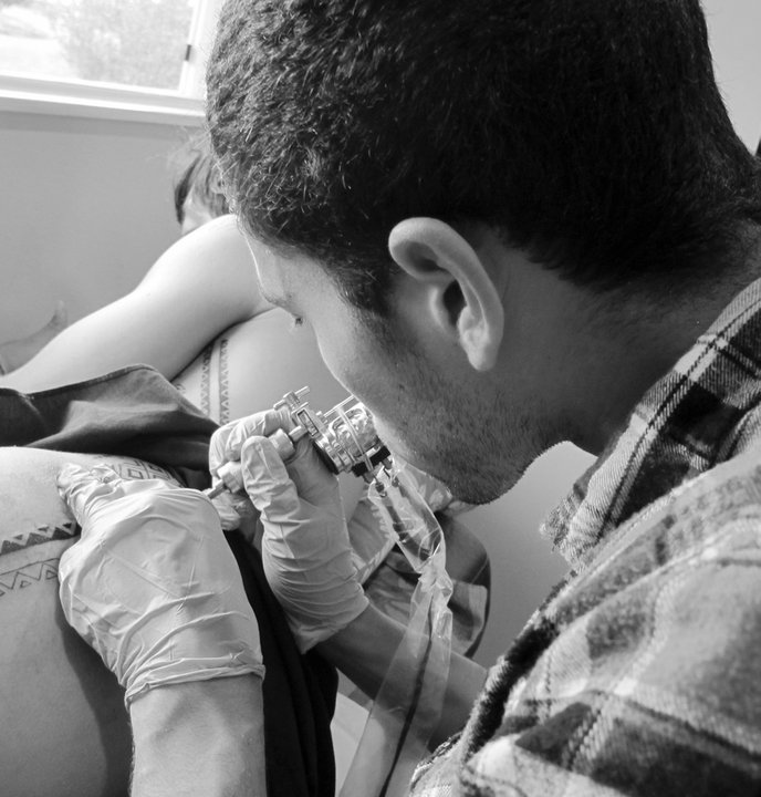 Beginning of My Tattoo Apprenticeship