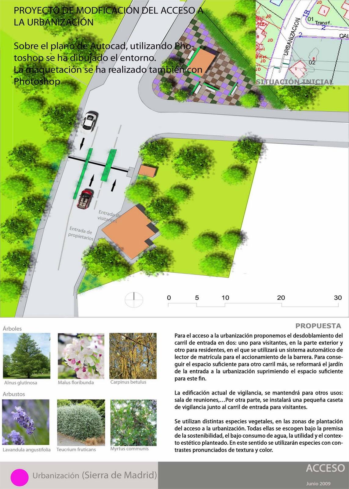 El blog de la paisajista proyectos for La paisajista