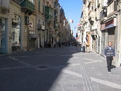 Shops in Valletta
