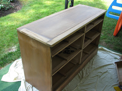 Painted Bedroom Furniture on Am Shyla   Hear Me Rohrer   Painting Our Bedroom Furniture