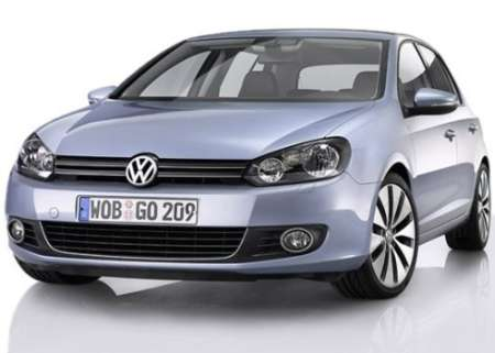 Volkswagen Golf. VW Golf may consume 2.3 liters