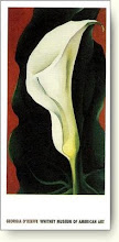 Single Lily With Red, by Georgia O&#39;Keefe
