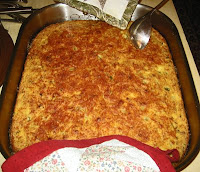 Green Chili Cottage Cheese Parmesan Cornbread