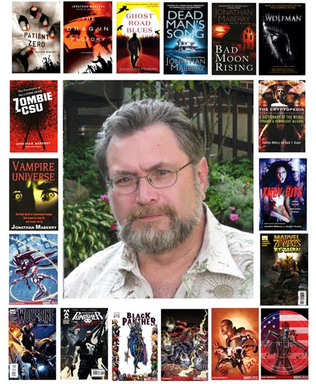 Interview Jonathan Maberry Speculative Book Review