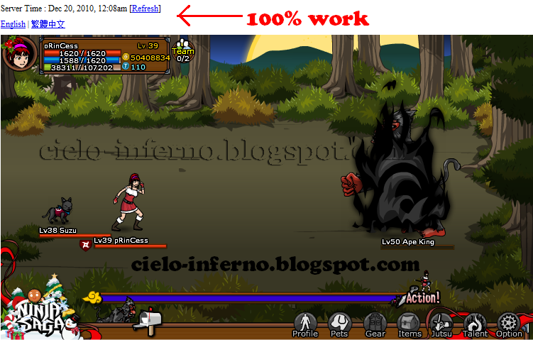 Ninja Saga Hack Release v1.3   Emblem 2.0