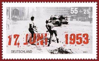 Berlin del Este 17 Junio 1953