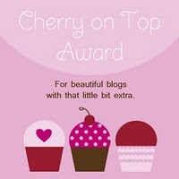 Blog Award: Cherry on Top Award