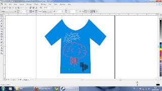 Rizqi Activities: Cara membuat desain baju menggunakan Corel Draw1366
