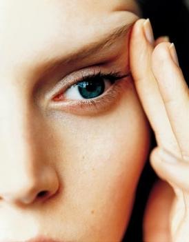 La máscara para los párpados para la elasticidad de la piel