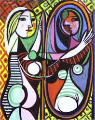 Girl in the mirror - by Picasso