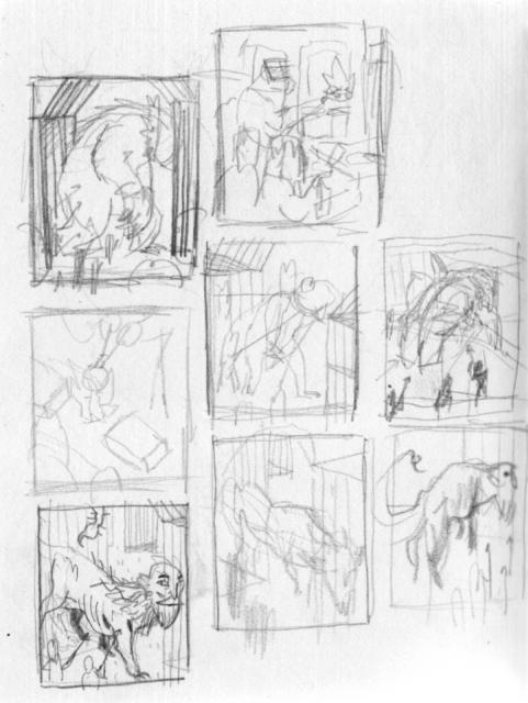 Thumbnail Sketch Examples Some Thumbnail Sketches