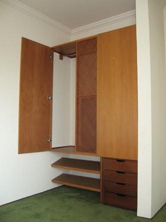 armario de um dos quartos