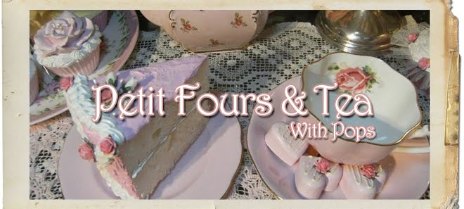 Petitfours and Tea