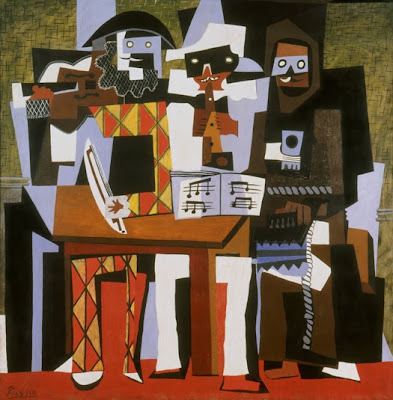 Three Musicians (1921) by Pablo Picasso, Philadelphia Museum of Art. ©2010 Estate of Pablo Picasso/Artists Rights Society (ARS), New York.