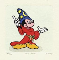 Fantasia Mickey Mouse. All Rights Reserved. © Disney.
