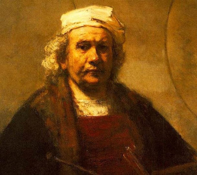 Self-portrait by Rembrandt (1661).