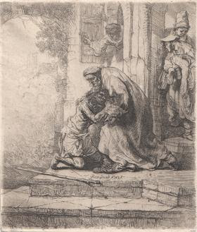 Return of the Prodigal Son (1636). Rembrandt van Rijn.