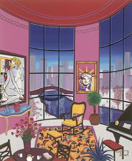 Interior with Lichtenstein. Fanch (Francois Ledan).