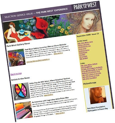 Park West Gallery Newsletter, Issue 13