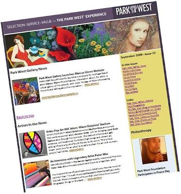 Park West Gallery Newsletter, Issue 13