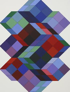Tridim-KK by Victor Vasarely