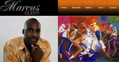 Marcus Glenn Website, Park West Gallery